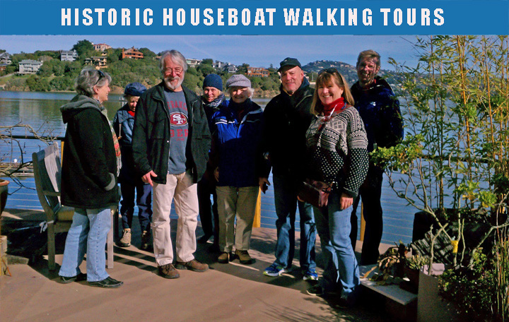 Historic House Boat Tours - walking tours - teaser tours