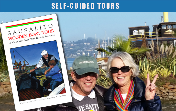 sausalito wooden boat tour guide book